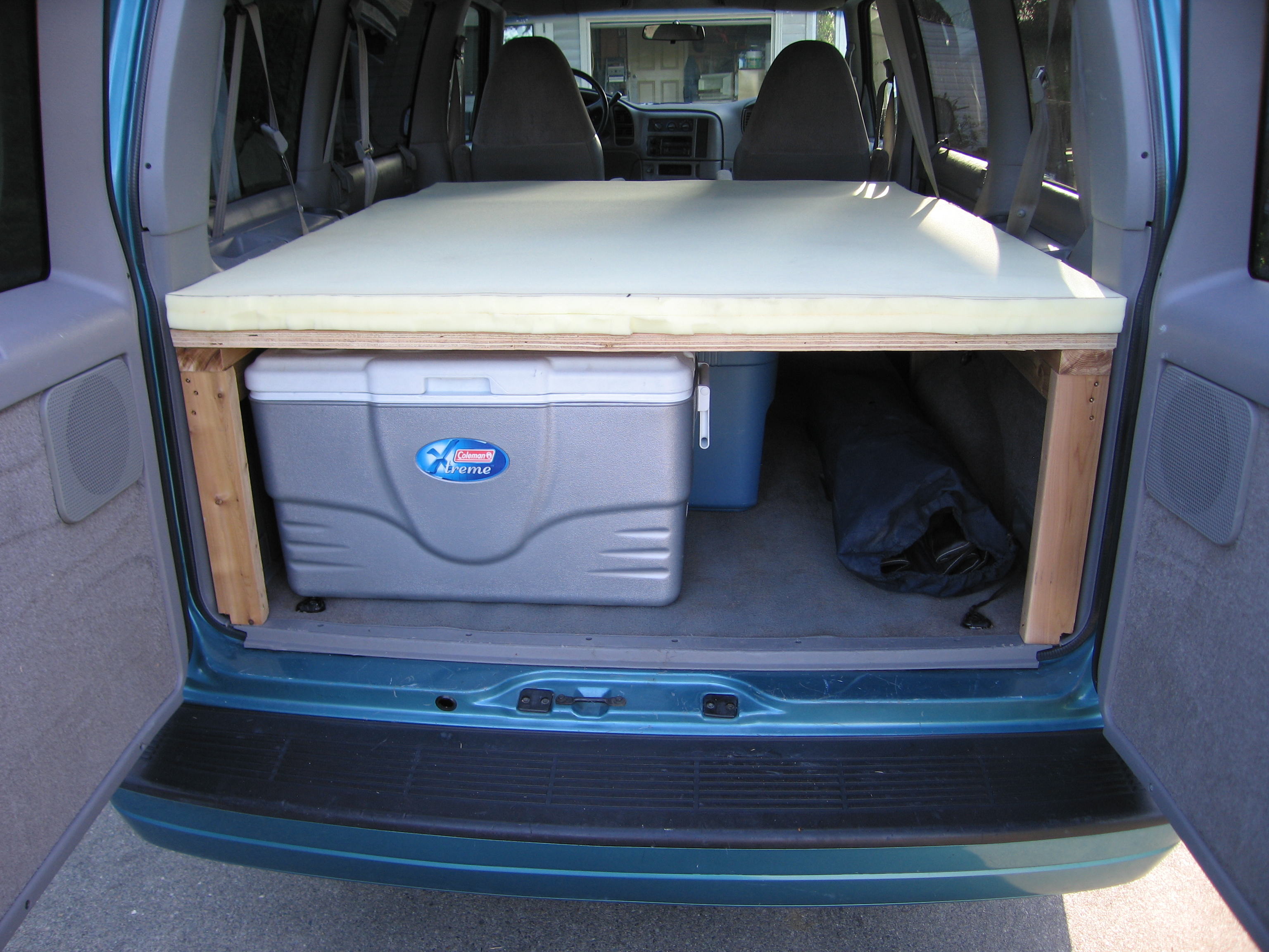 Camping In An Astro Van | Autos Post