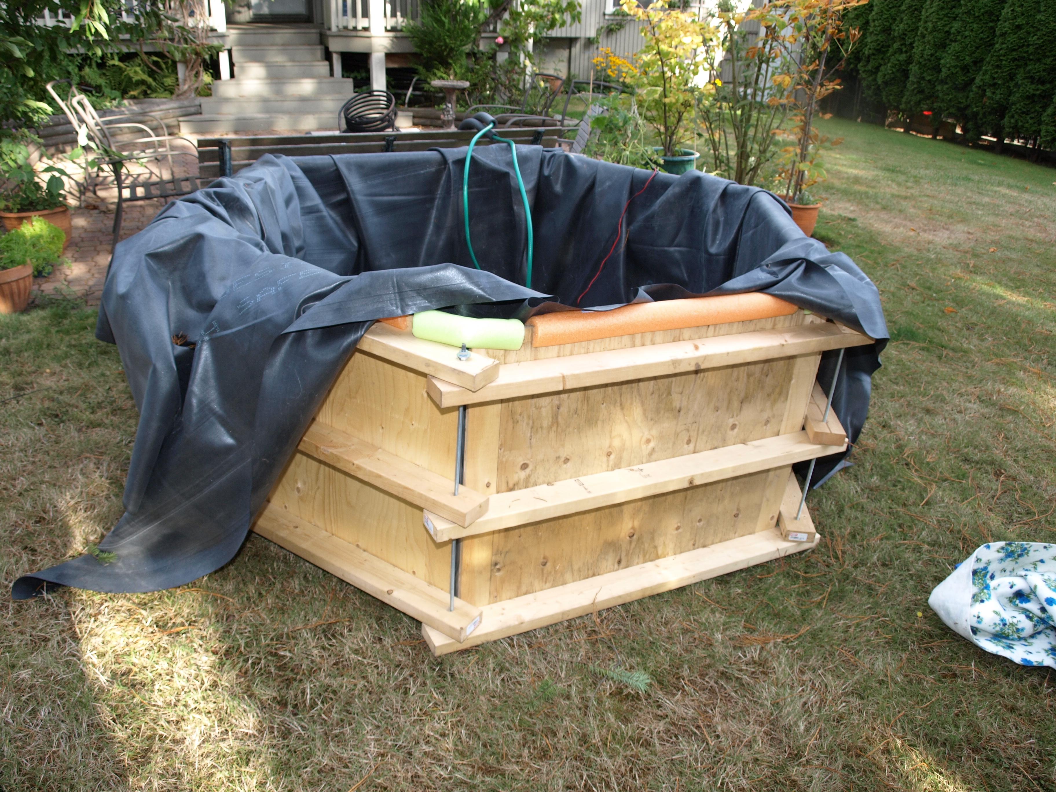 build a hot tub